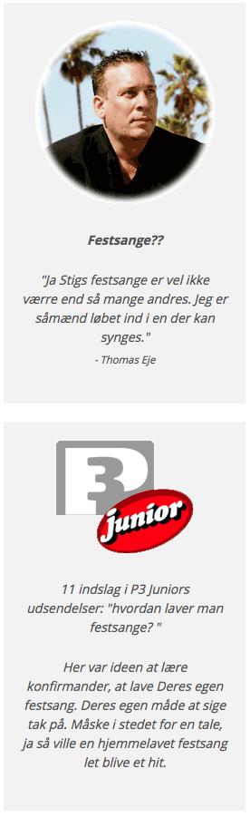 Thomas Eje synes godt om festtale.dk sange